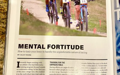 Mental Fortitude – How to train your brain to handle the unpredictable nature of racing – Velo News Sept/Oct 2020